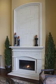 Interior Exquisite Image Of Home Interior Decoration Using Grey Cast Fireplaces