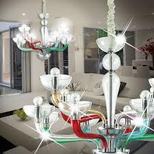 Mia Murano Kronleuchter ø890mm Klassisch Bunt Glas Lampe