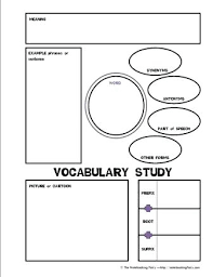 vocabulary words worksheet template vocabulary worksheet template retailbutton co