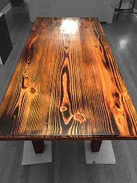 5 out of 5 stars (3) $ 155.00 free shipping add to favorites mandala wood burned table // altar theevergreenartco. Burnt Finish Custom Wood Furniture Signature Woodwork
