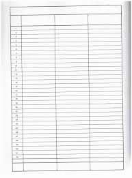 6 Column Chart 10 Best Images Of Printable Blank Charts With Columns 4 3