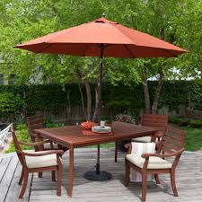 commercial patio umbrellas wind resistant luxury have to have it love it in rust c coast 9 ft push on tilt