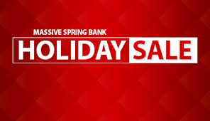 UP TO 80 Discounts on Big Spring Bank Holiday Furniture Sale