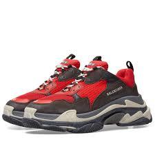 Red End Sneaker Triple S amp; Balenciaga Black fafcafdbab|San Francisco 49ers Blog Page