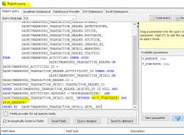 Report With Pictures Working Jasper Report With Date Parameter Exported To Pdf