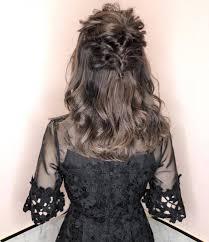一番清楚ハーフアップの結婚式お呼ばれヘアアレンジカタログ Marry