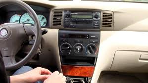 toyota corolla car stereo removal 2003 to 2008 youtube Stereo Wiring For 2008 Corolla Stereo Wiring For 2008 Corolla #74 Car Stereo Wiring Color Codes