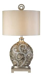 silver table lamps champagne gold with silver vine table lamp com veuaqoq