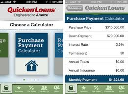 Loan Calculator Mortgage Refinance Mortgage Calculator By Quicken Loans For Iphone Review Imore