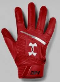 Demarini Batting Gloves Size Chart Under Armour Ua Harper Pro Red Silver White Baseball Batting