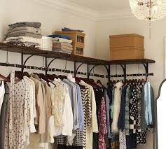 new york closet collection clothing rod