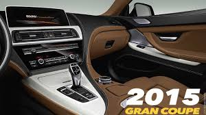 Coupe Series bmw 650i 2015 : BMW 6 Series Gran Coupè 2015 RESTYLING | INTERIOR - YouTube