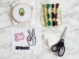 whhaaaaaaatup what up guys so today i m going to show you how to hand sch a patch so get your embroidery backing cloth fabric and your image along
