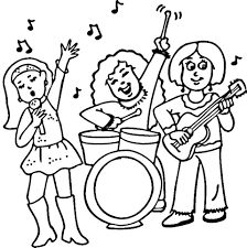 Rock Music Logos Coloring Pages