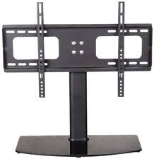 panasonic tv base stand replacement. table top replacement tv pedestal stand base fits 32-50 panasonic tv