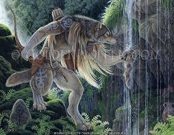 Sacred Waters | Werewolf art, Furry art, Werewolf