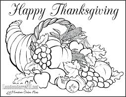Thanksgiving Coloring Worksheets Kindergarten Best Pages Ideas On ...