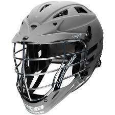 Cascade Cpx R Matte Grey Lacrosse Helmet