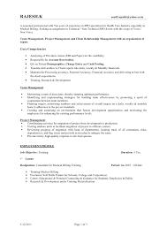 Bpo Resume For Experienced Bpo Resume Resume Template Bpo Resume For