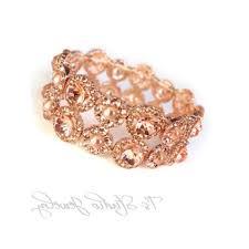 gold crystal chandelier earrings rose gold pearl bridal chandelier earrings phoebe ideas