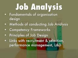 Principles Of Job Design Job Analysis By Teodora