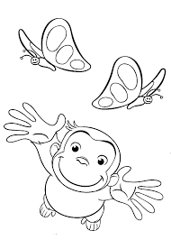 Free Curious George Coloring Pages
