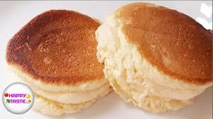 แพนเค้กฟูนุ่มสไตล์ญี่ปุ่นแบบง่ายFluffy Japanese Pancake