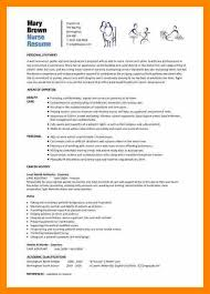 Sample Of Good Resume Custom 48 Good Cv Examples Colonialneighbours