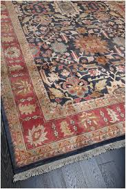 rugsville fl persian hand knotted blue rust wool rug 270 x 360