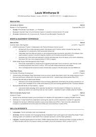 Investment Banking Resume Template Intern Analyst Bullets Horsh