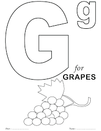Activity Sheets For Preschoolers Alphabet Coloring Sheets For