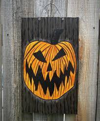 Jack Skellington Decorations Halloween Nightmare Before Christmas Inspired Halloween Town Doorhalloween