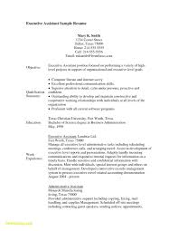 Executive Assistant Career Objective Administrative Assistant Job Objective 20 Awesome Resume Templates