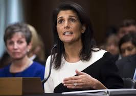 Nikki Haley Becomes Latest Trump Cabinet Pick to Criticize Russia ...