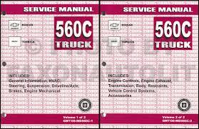 2005 gmc topkick chevy kodiak repair shop manual original 2 2006 topkick kodiak c 4000 5000 repair manual original 2 volume set