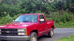 Chevy step side, k1500 1990, Nates new truck - YouTube