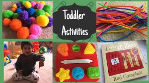 DIY Activities - 1-2 years old II Fun activities II Toddler ...