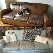 leather paint for couch restoration before and after from brown to ash grey home depot leather paint for couch how to furniture dye chair get spray off