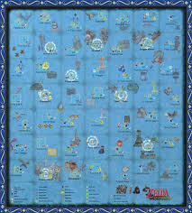 The Wind Waker Full Sea Chart W Pictures By Zantaff On