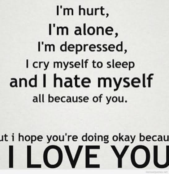 sad love quotes that make you cry