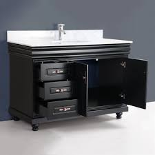 bathroom vanity black. Large Size Of Home Designs:black Bathroom Vanity Awesome Tiled Flooring And Solid Wall Which Black A