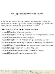 Technical Trainer Resume Resume Technical Trainer Resume