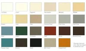 Ply Gem Gutter Color Chart Mastic Color Chart Travis D Me