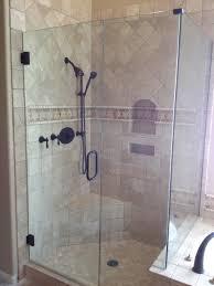 frameless bathroom shower glass doors design
