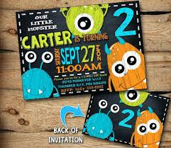 Lil Monster Birthday Invitations Little Monster Birthday Invitations Monster Birthday Invitation