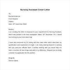 Cna Cover Letter – Citybirds.club