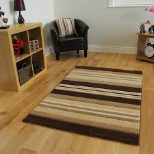 Large Rugs For Living Rooms Cheap Natural Brown Lines Cream Beige Stripes Rug Havana Living