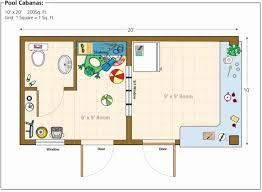 amazing pool house floor plan ideas small layout