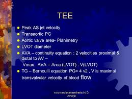velocity transaortic pg aortic valve area planimetry lvot diameter ava continuity equation 2 velocities proximal distal to av vmax