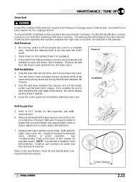 Polaris Atv Drive Belt Chart 44 Unmistakable Polaris Snowmobile Belt Chart
